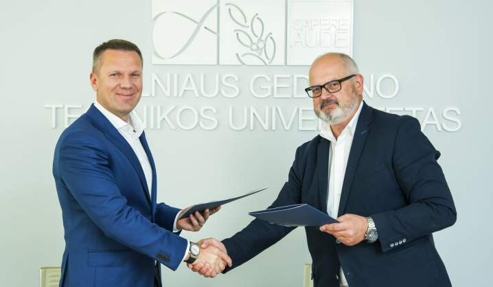 """VGTU pasirašė sutartį su """"Jet Maintenance Solutions"""""""