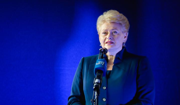 Prezidentės D. Grybauskaitės sveikinimas rugsėjo 1-osios proga