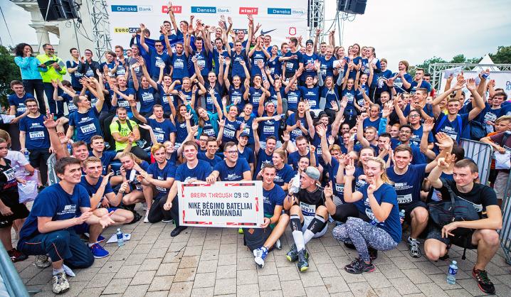 Vilniaus maratono moksleivių ir studentų bėgime triumfavo VGTU