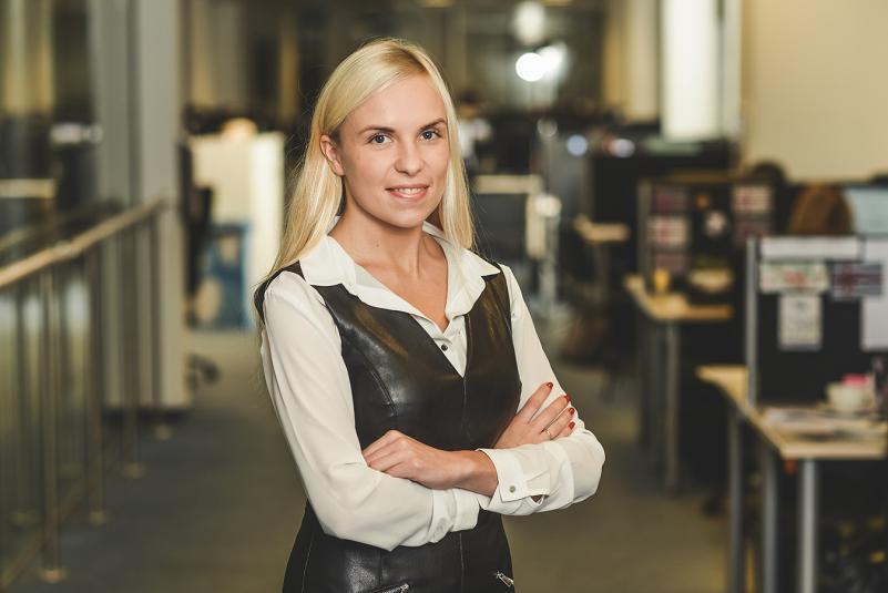 """Vieša kompanijos """"Euromonitor International"""" atstovės Lauros Kugienės paskaita"""