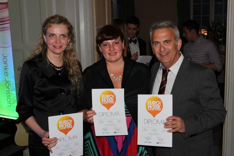 Verslo vadybos fakulteto atstovai apdovanoti tarptautiniame konkurse