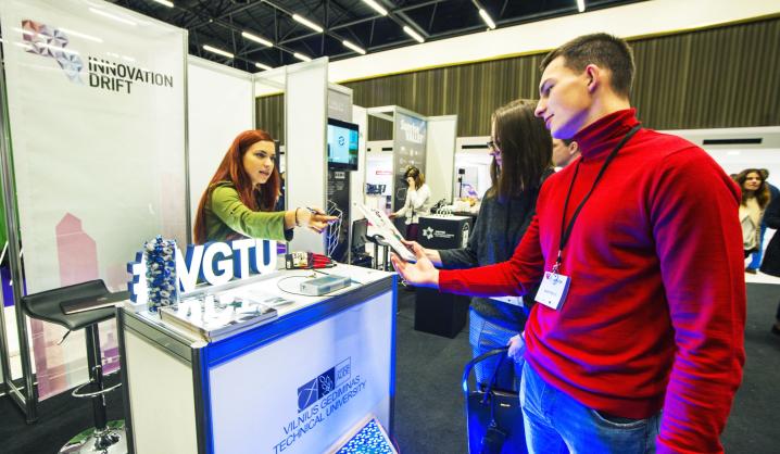 "VGTU renginyje ""Innovation Drift 2017"" (galerija)"