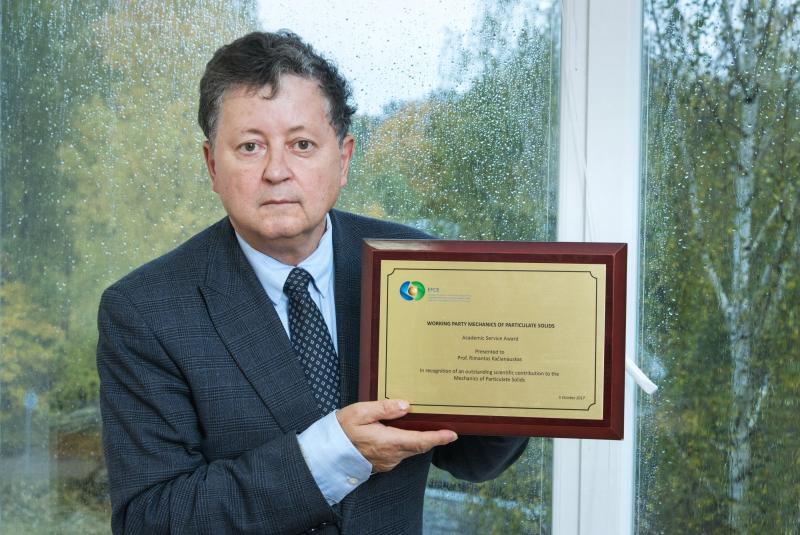 VGTU profesorius R. Kačianauskas – Pasauliniame chemijos inžinerijos kongrese