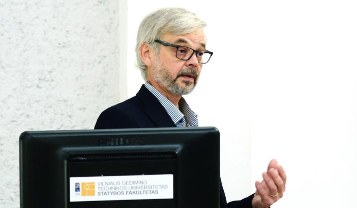 VGTU lankėsi BIM ekspertas iš Suomijos