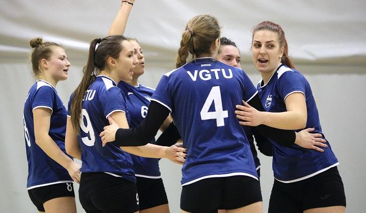 VGTU merginų tinklinio komandos varžybos (VMTČ)