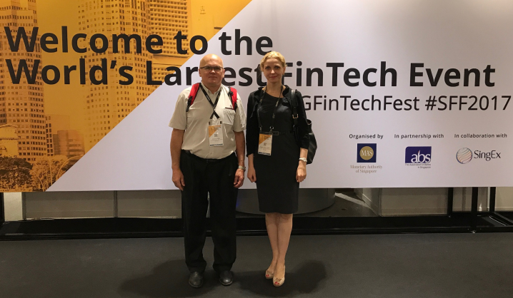 Lietuvių delegacija išvyko į didžiausią finansinių technologijų renginį Pietryčių Azijoje