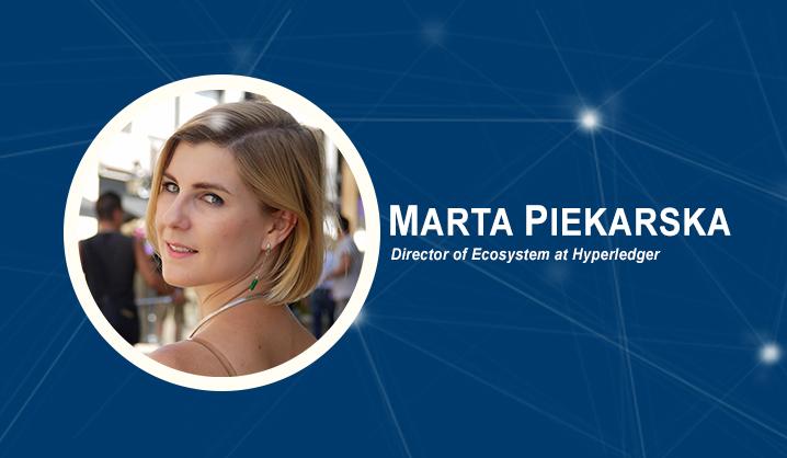 Hyperledger projekto Ekosistemos direktorės Martos Piekarskos atvira paskaita