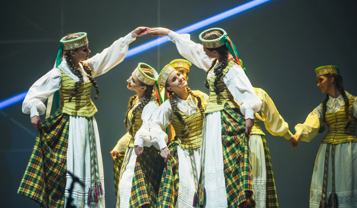 """VGTU tautinių šokių ansamblis """"Vingis"""" kviečia į koncertą"""