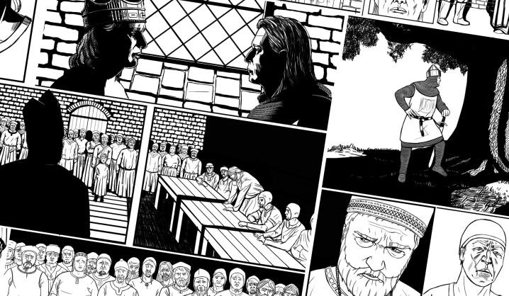 """""""Komiksai: pažink ir kurk"""": VGTU dėstytojų knygos pristatymas"""