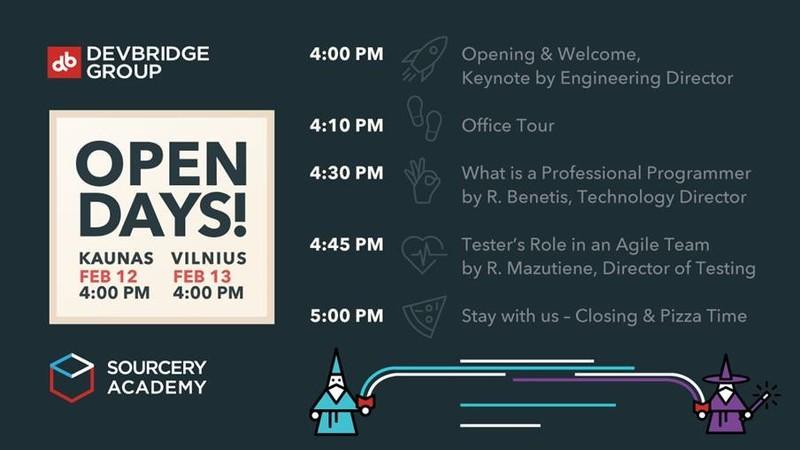 Devbridge Group atvirų durų diena studentams - vasario 13 d. Registruokis!