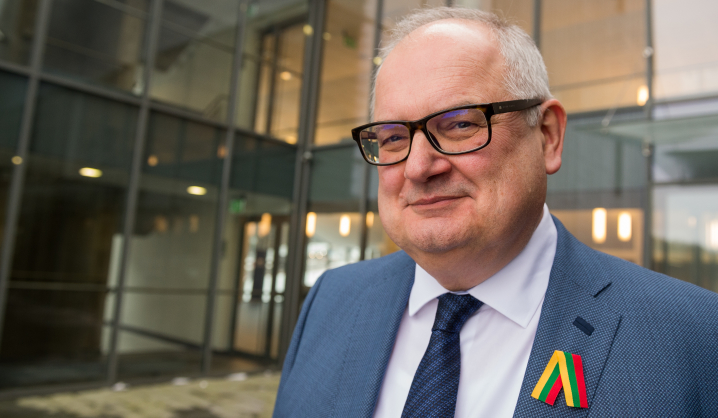 Rektoriaus sveikinimas Lietuvos valstybės atkūrimo dienos proga