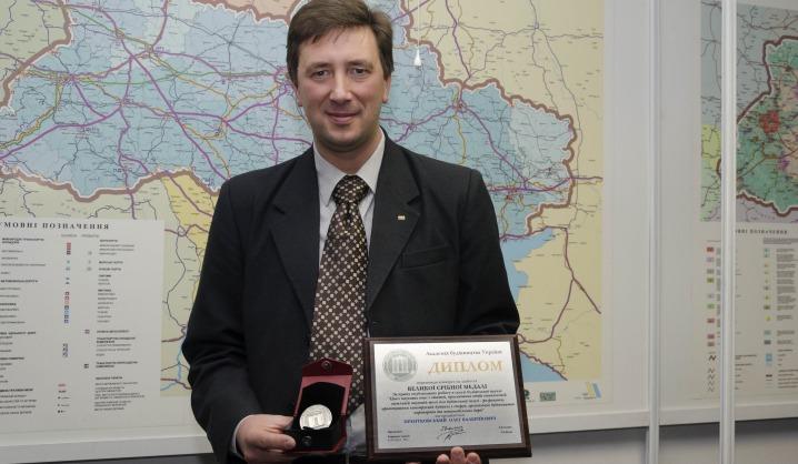 """VGTU profesorius įvertintas """"Didžiuoju sidabro medaliu"""""""