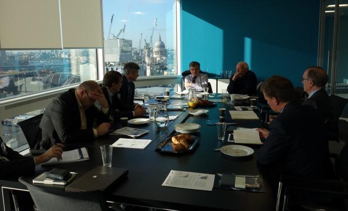 VGTU dėstytojai dalyvavo skaitmeninės statybos konferencijoje Londone