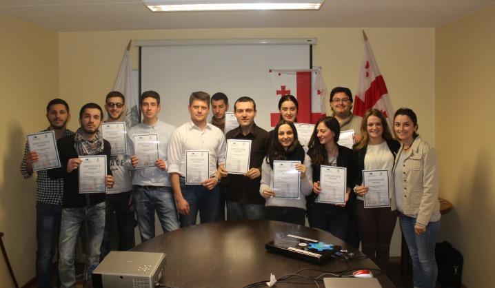VGTU studentai vykdė projektą su kolegomis iš Gruzijos