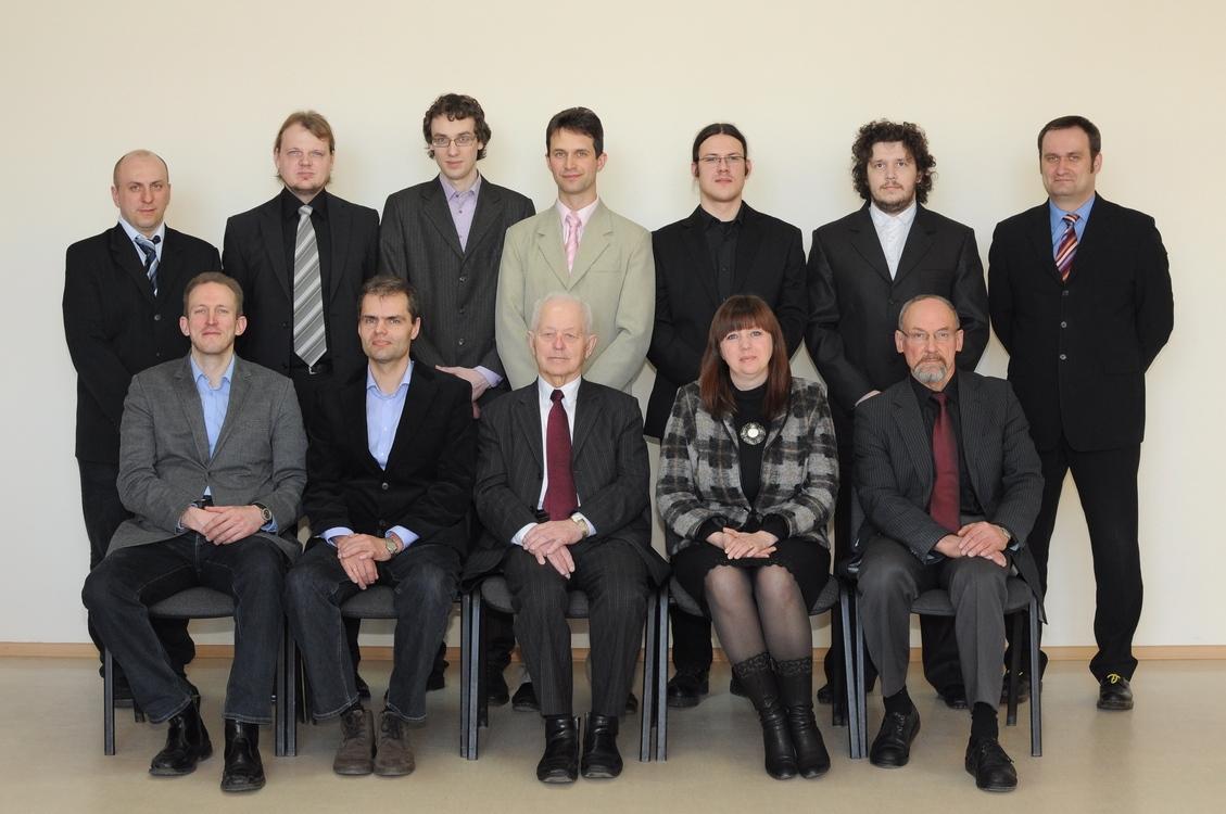 Telekomunikacijų inžinerijos katedros darbuotojai