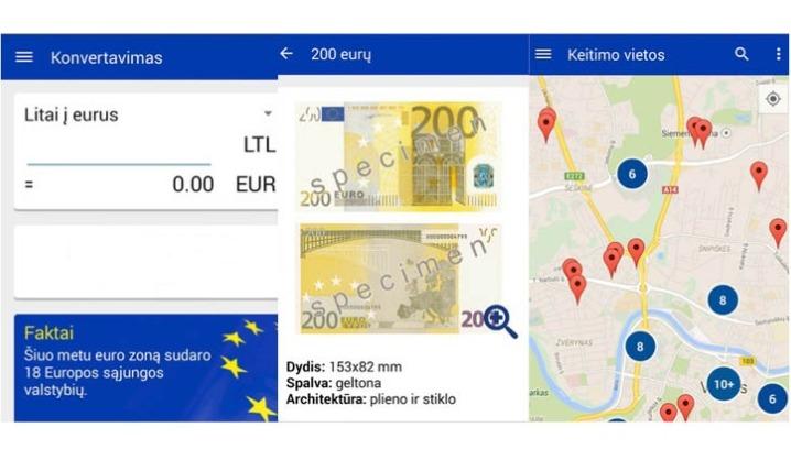 Euras atkeliavo ne tik į kišenes, bet ir į mobiliuosius telefonus