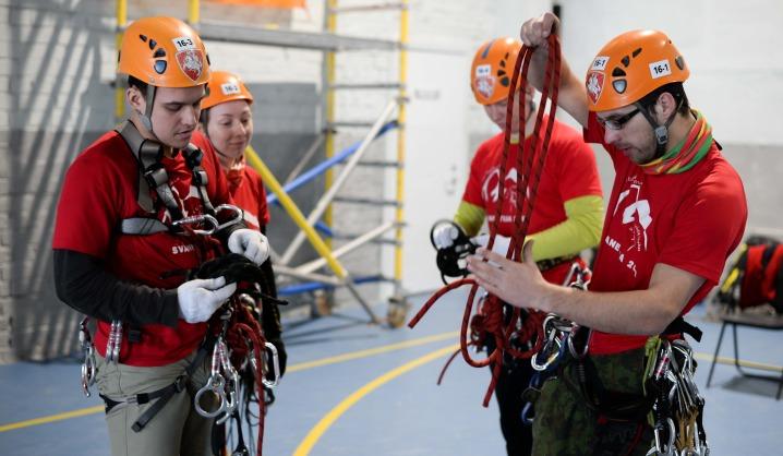 VGTU turistų klubas alpinizmo varžybose užėmė tris prizines vietas