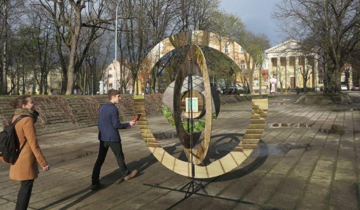 Architektai eksperimentavo Vilniaus miesto erdvėse