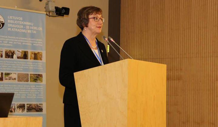 IFLA prezidentės S. Sipila vizito į Lietuvą metu – aukštas bibliotekų įvertinimas