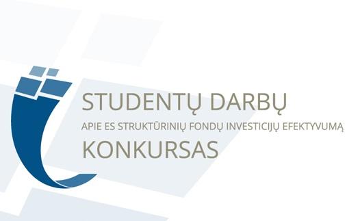 Studentų darbų apie ES struktūrinių fondų investicijų efektyvumą konkursas