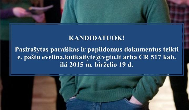 Skelbiamas Erasmus+ praktikos po studijų stipendijų konkursas absolventams, pretenduojantiems į rezervinį sąrašą