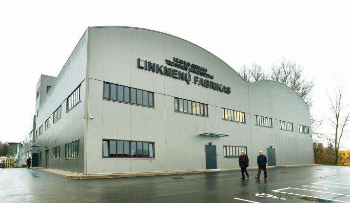 """VGTU """"LinkMenų fabriko"""" atidarymo akimirkos"""