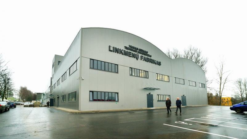 """VGTU """"LinkMenų"""" fabrike - Startuolių olimpinės žaidynės"""