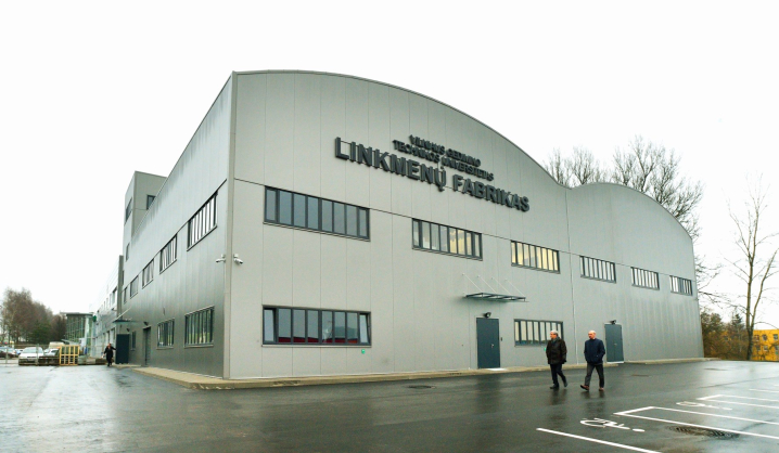 "VGTU Creativity and Innovation Centre ""LinkMenų fabrikas"" opened its door"