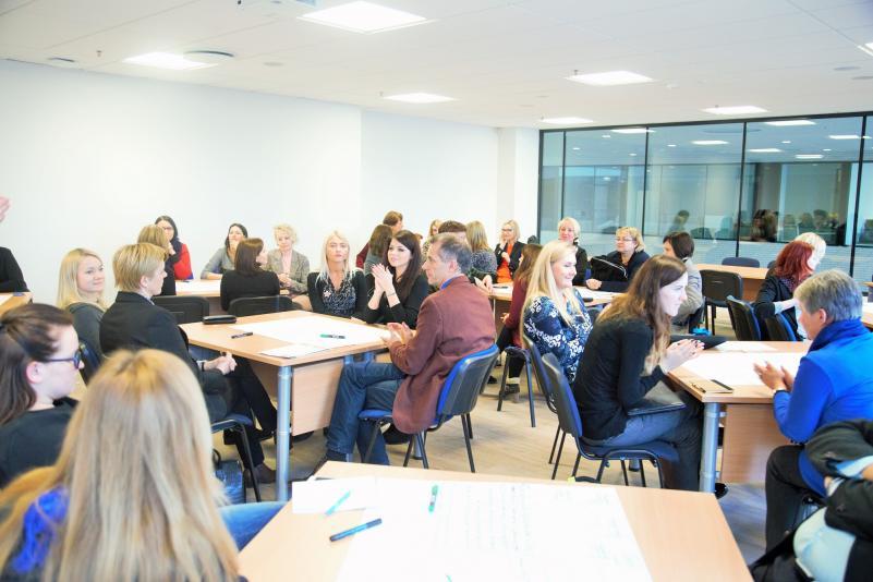 """Forumas """"Studentų nubyrėjimo mažinimas aukštojoje mokykloje: geroji praktika ir prevencija"""""""