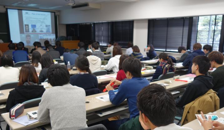 Studentai Japonijoje klausėsi tiesiogiai iš VGTU skaitomos paskaitos